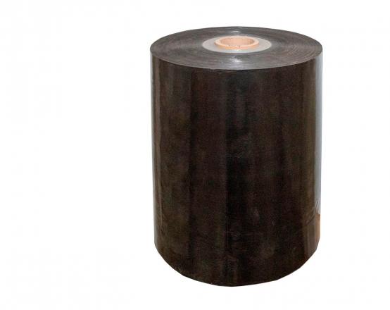 Упаковочная стрейч пленка черная, вторичная - 1